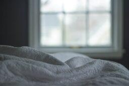 Nya sängkläder piffar upp sovrummet